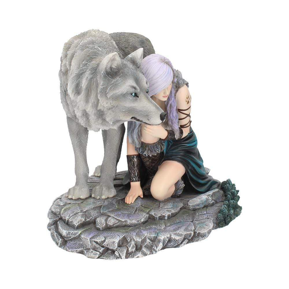 Protector (Limited Edition) (As) 25cm Wolves Figurine Medium