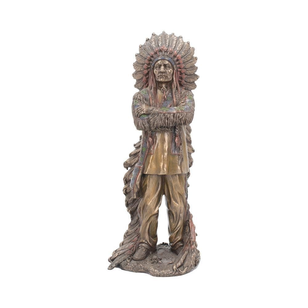 Proud Chief 30cm Native American Figurine Large