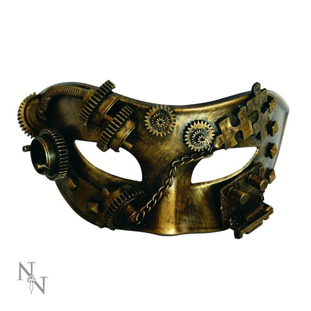 Puzzled Masquerade 17cm (Pack Of 3) Science Fiction Masks