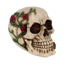 Load image into Gallery viewer, Rose From Beyond 15cm Skull Figurine Medium