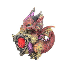 Load image into Gallery viewer, Ruby Dragonling 12cm Dragon Figurine Small
