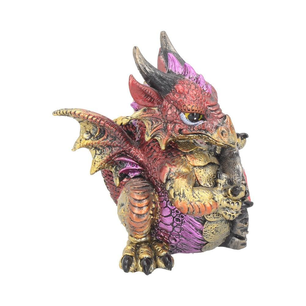 Ruby Dragonling 12cm Dragon Figurine Small