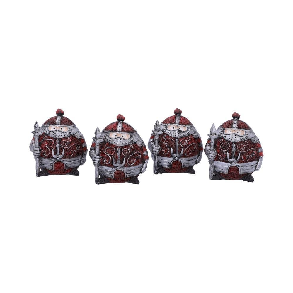 Sir Real 8.5cm (Set Of 4) Medieval Figurine Small