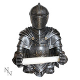 Sir Wipealot 33cm Medieval Toilet Roll Holder
