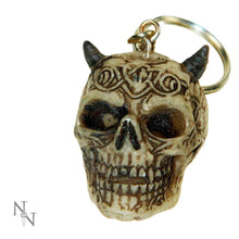 Load image into Gallery viewer, Skull Keyrings (3cm) (Pack Of 6) Skull Keyrings