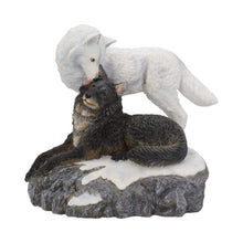 Load image into Gallery viewer, Snow Kisses 20.5cm Wolves Figurine Medium