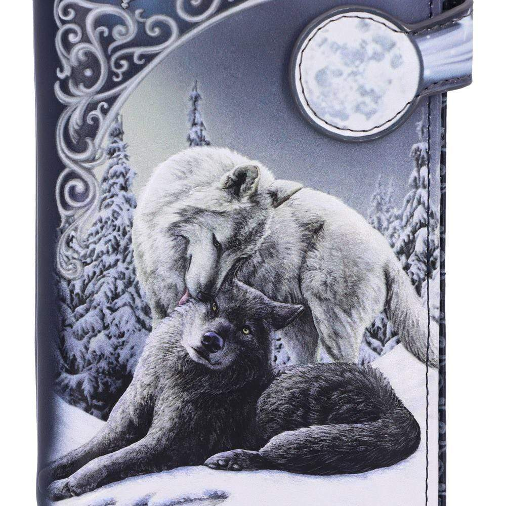 Snow Kisses Embossed Purse (Lp) 18.5cm Wolves Purse