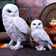 Load image into Gallery viewer, Snowy Watch Large 20cm Owl Figurine Medium