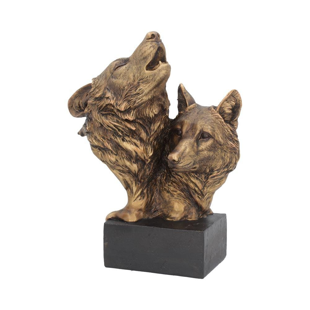 Song Of The Wild 23cm Wolves Figurine Medium
