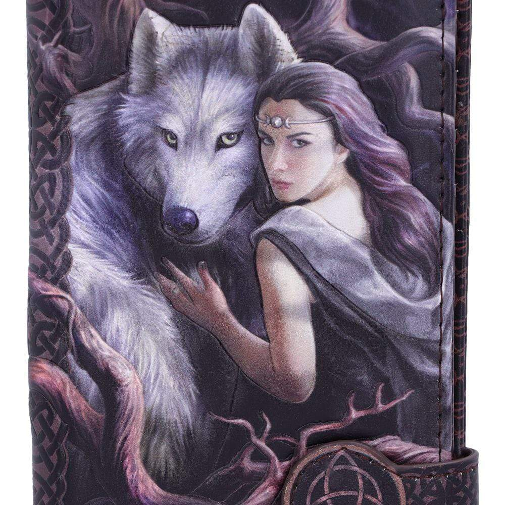 Soul Bond Embossed Purse (As) 18.5cm Wolves Purse