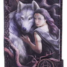 Load image into Gallery viewer, Soul Bond Embossed Purse (As) 18.5cm Wolves Purse