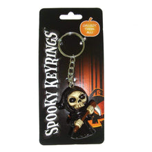 Load image into Gallery viewer, Spooky Keyrings Reaper 5cm (Pack Of 12) Reaper Keyrings