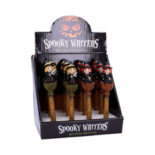 Load image into Gallery viewer, Spooky Writers Witch Pens (Display Of 12) 16cm Witchcraft Wiccan Pen