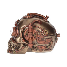 Load image into Gallery viewer, Steam Powered Observation Skull 16.5cm Skull Figurine Medium