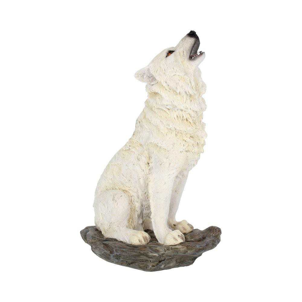Storms Cry 20cm Wolves Figurine Medium