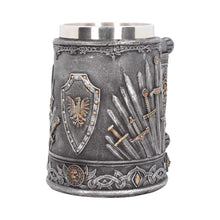 Load image into Gallery viewer, Sword Of The King Tankard 14cm Medieval Tankard