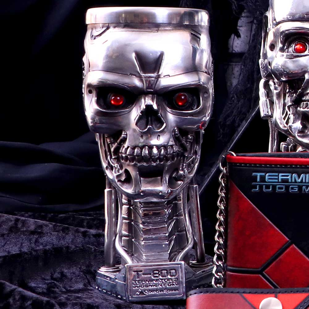 Terminator 2 Head Goblet 17cm Science Fiction Goblet