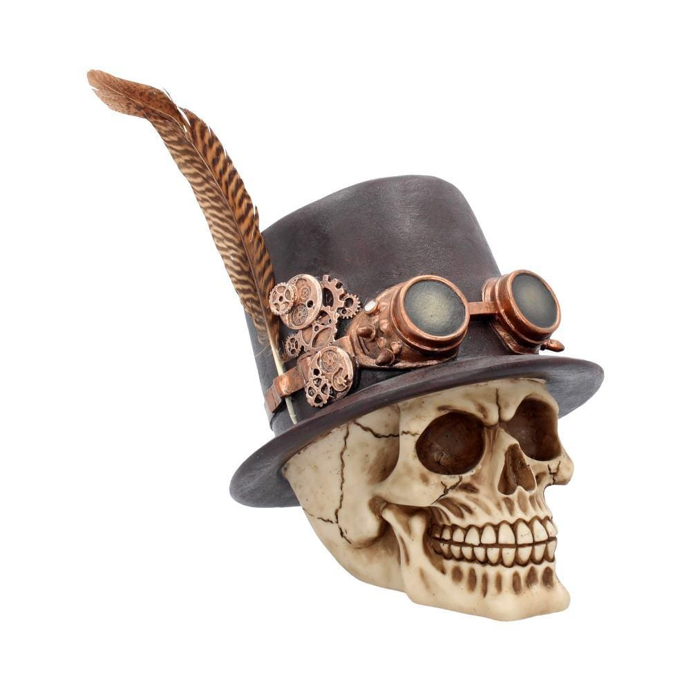 The Aristocrat 18.5cm Skull Figurine Medium