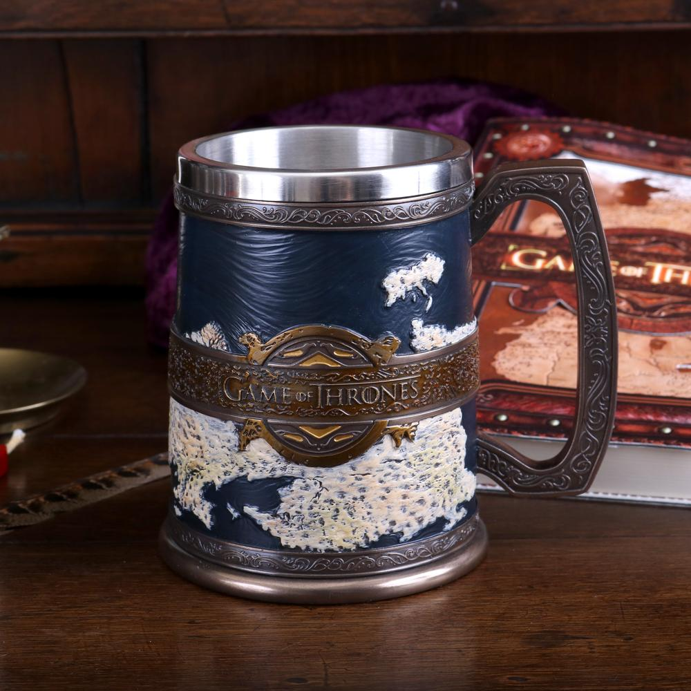 The Seven Kingdoms Tankard 14cm (Got) Fantasy Tankard