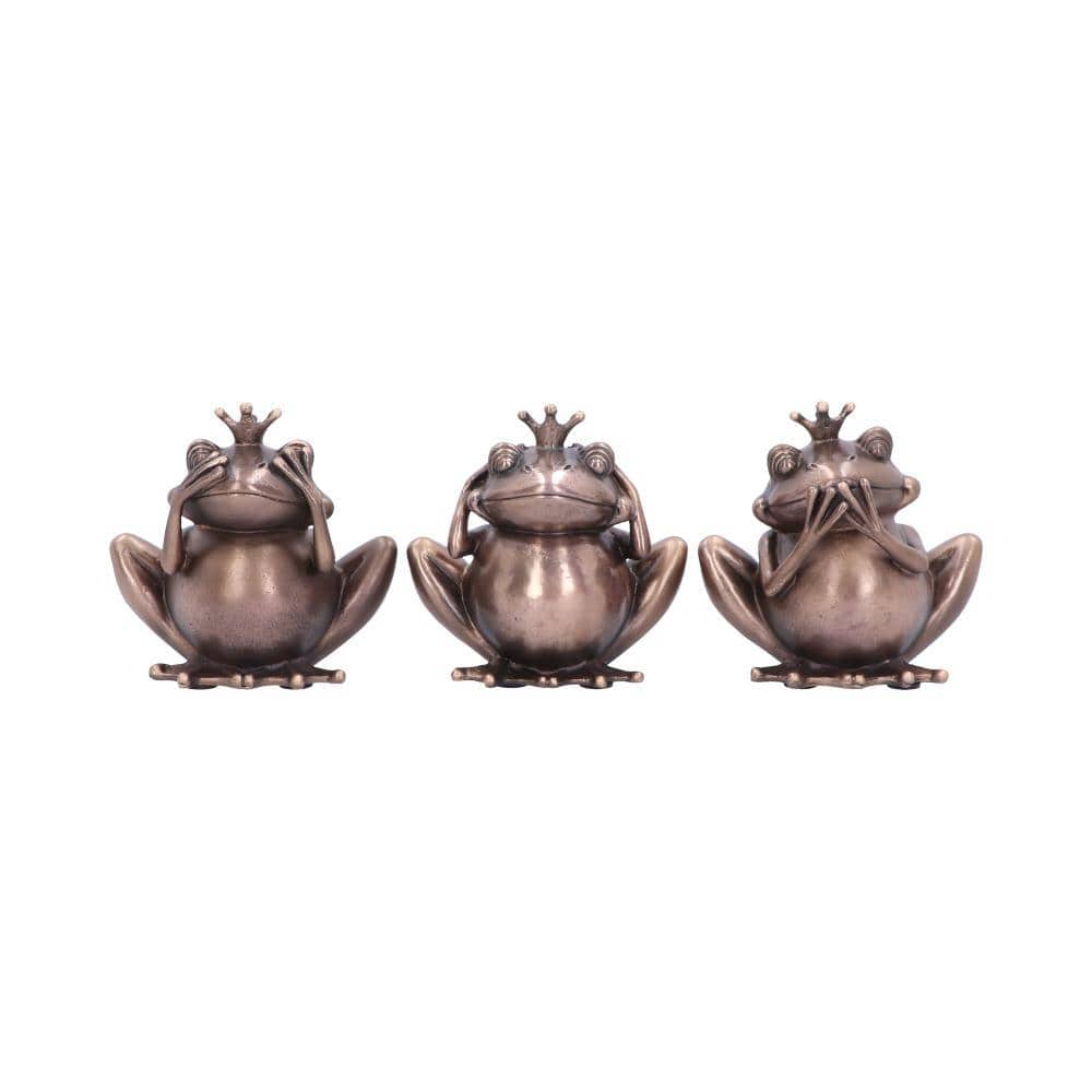 Three Wise Frogs 8.5cm Animal Figurine Small