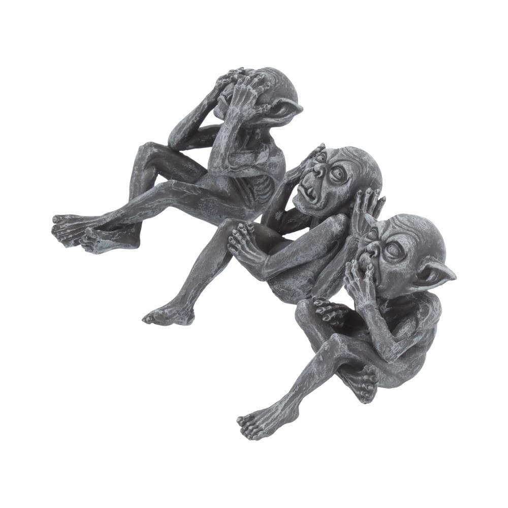 Three Wise Goblins 12cm Gargoyle & Grotesques Figurine Small