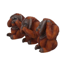 Load image into Gallery viewer, Three Wise Orangutans 10.5cm Ape Figurine Small