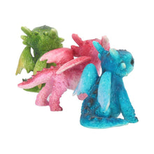 Load image into Gallery viewer, Tiny Dragons (Set Of 3) 6.5cm Dragon Figurine