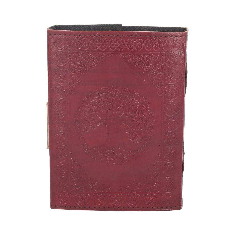 Tree Of Life Leather Journal W/Lock 13 X 18cm Witchcraft & Wiccan Journal (Leather)