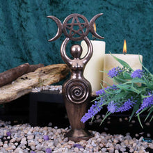 Load image into Gallery viewer, Triple Goddess Idol 20cm Witchcraft & Wiccan Figurine Medium