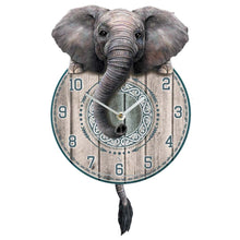 Load image into Gallery viewer, Trunkin' Tickin' Elephant Clock