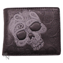 Load image into Gallery viewer, Wallet Abstract Skull 11cm Skull Wallet