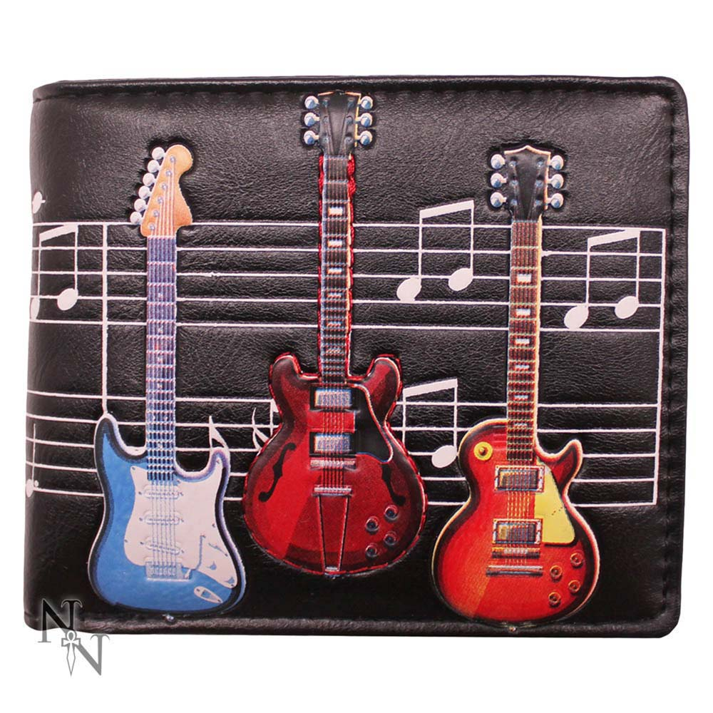 Electric Guitars 11cm Wallet