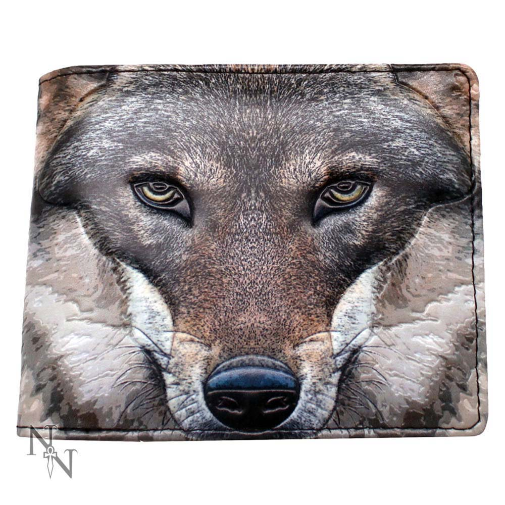 Wallet Portrait Of A Wolf 11cm Wolves Wallet