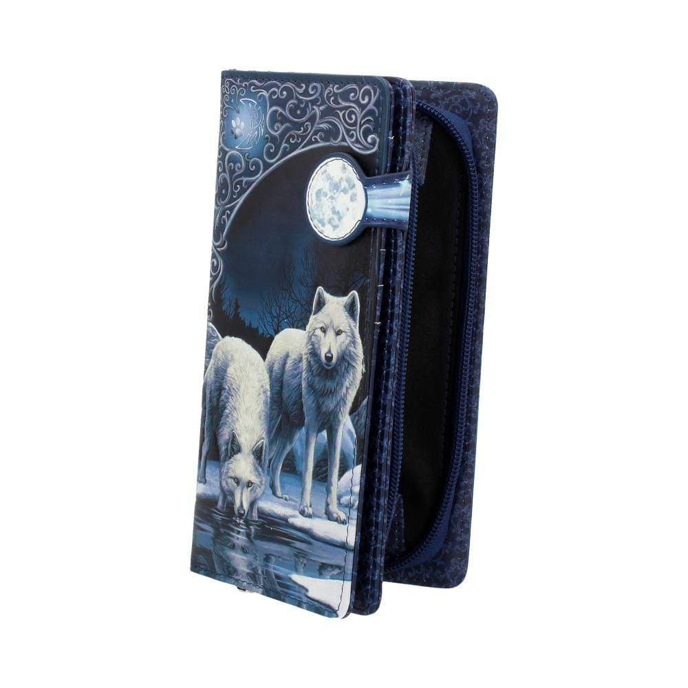 Warriors Of Winter Embossed Purse (Lp) 18.5cm Wolf Purse