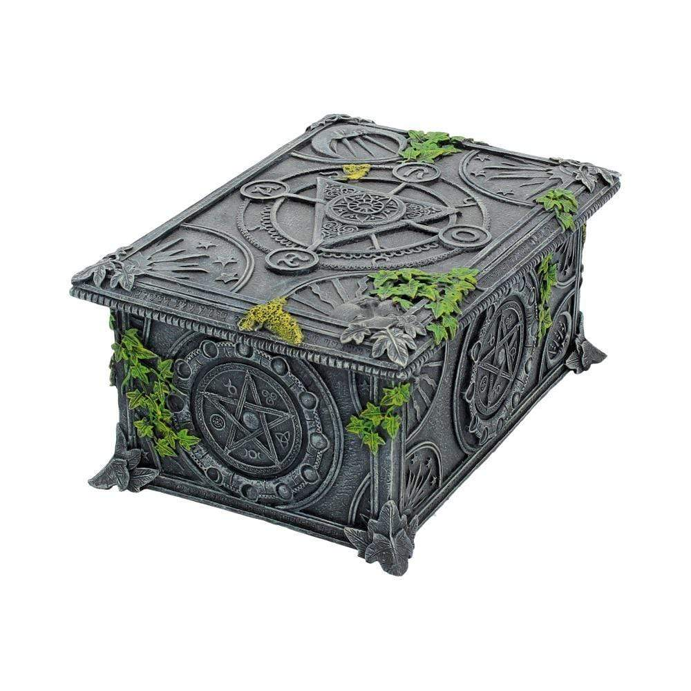 Wiccan Pentagram Tarot Box 17.5cm Witchcraft & Wiccan Box