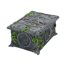 Load image into Gallery viewer, Wiccan Pentagram Tarot Box 17.5cm Witchcraft & Wiccan Box