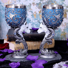 Load image into Gallery viewer, Wild At Heart Goblets 18.5cm (Set Of 2) Wolves Goblet