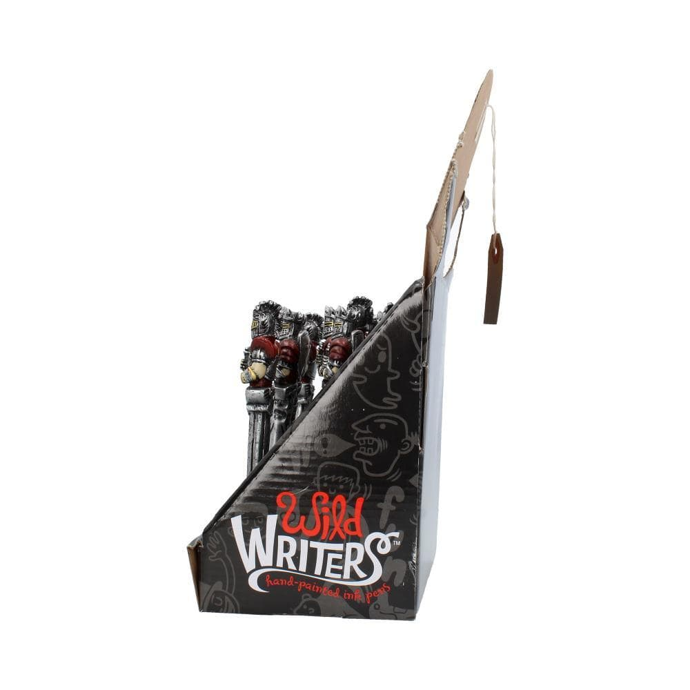 Wild Writers Knight Pens 16cm (Display Of 12) Medieval Pen
