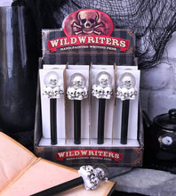 Load image into Gallery viewer, Wild Writers Skull Water Ball Pen16cm (Set Of 12) Skull Pen