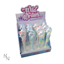 Load image into Gallery viewer, Wild Writers Unicorn Pens 16cm (Display Of 12) Unicorn Pen