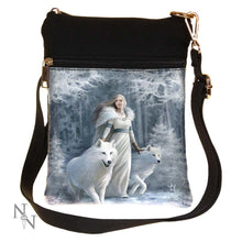 Load image into Gallery viewer, Winter Guardians (As) Shoulder Bag 23cm Wolves Bag