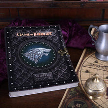 Load image into Gallery viewer, Winter Is Coming Journal (Got) Large Fantasy Journal