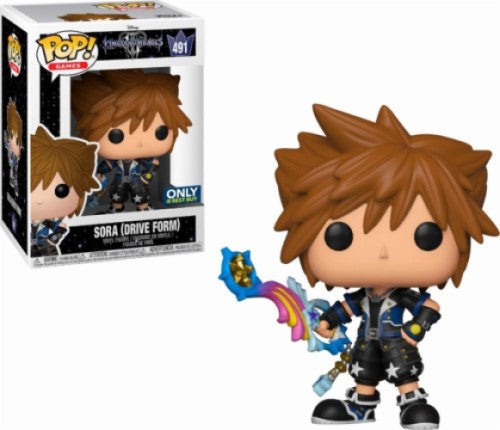 Funko POP! Games Kingdom Hearts 3 Sora (Drive Form) with International Exclusive Sticker