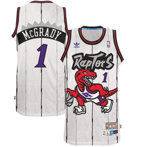 reputable site b0d0d a7c0c new arrivals toronto raptors white retro jersey 032ac 32a8d