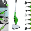 Image of Steam Mop Cleaner 10-in-1 with Convenient Detachable Handheld Unit, Laminate/Hardwood/Tiles/Carpet Kitchen - Garment - Clothes - Pet Friendly Steamer Whole House Multipurpose Use by PurSteam