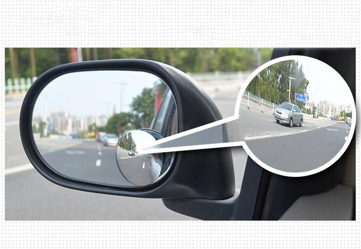 Pair of High Definition 360° Blind Spot Mirror