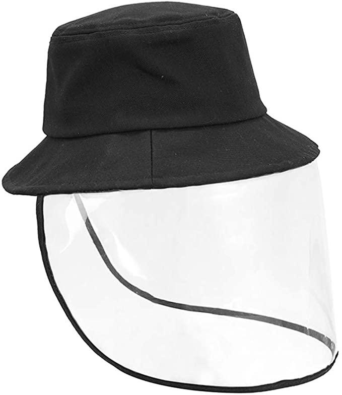 Womens UPF50+ Linen/Cotton Summer Sunhat Bucket Packable Hats w/Chin Cord