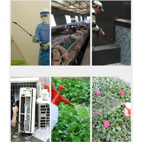 Portable Hand Pressure Watering Sprayer, Suitable for Cleaning Disinfection, Sterilization and Watering Vegetables &flowers
