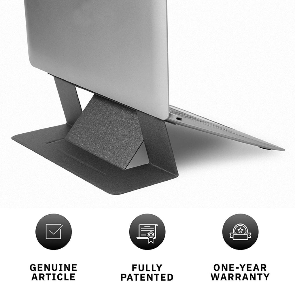World's First Invisible Laptop Stander