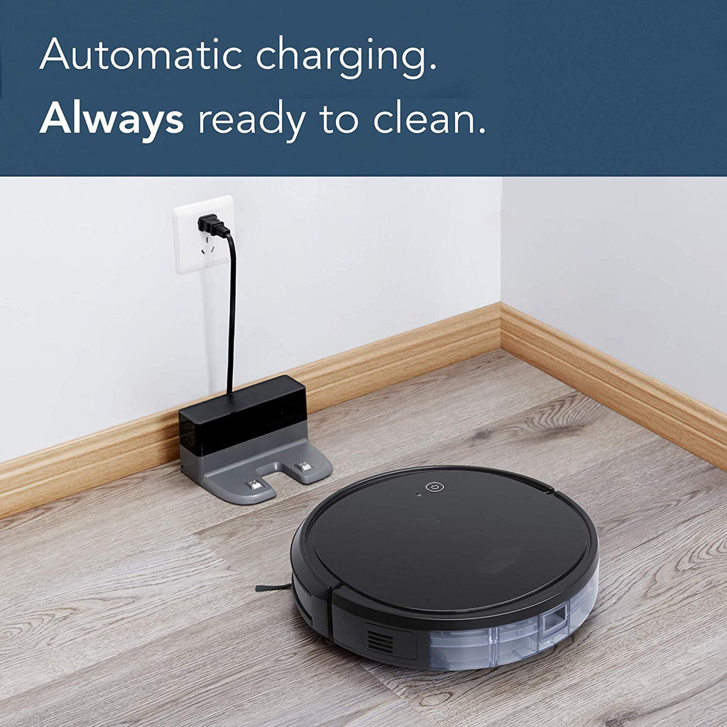 Robotic Vacuum Cleaner with Max Power Suction, Up to 110 min Runtime, Hard Floors & Carpets, App Controls, Self-Charging, Quiet-On Sale TODAY